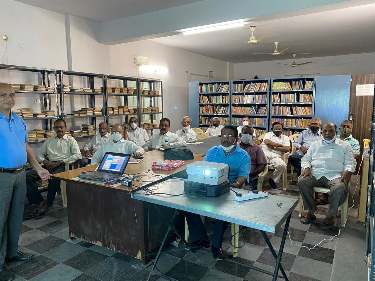 Training at IDPL